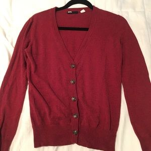 Red urban outfitters cardigan